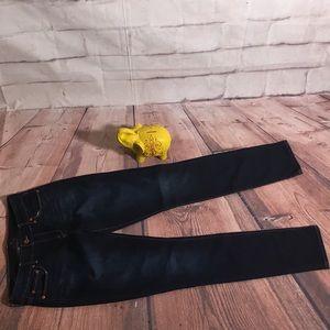 Lucky Brand Lolita Skinny Jeans in Dark Wash
